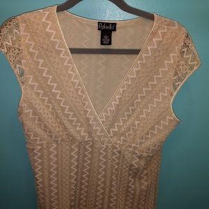 Rafella Sleeveless Ladies Shirt. Size Large